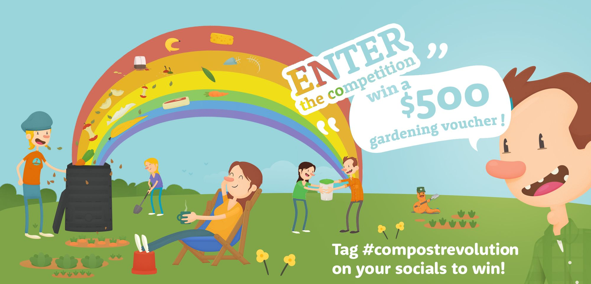 Enter the competition to win a $500 gardening voucher!